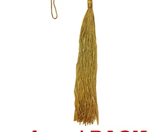 """Graduation Insignia Cords Tassels 8 Inch 5"""" Loop 100% Rayon - 1 pc / Pack (Choose from a Variety of Colors)"""