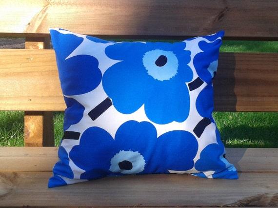 Pillow cover made from Marimekko fabric pillow case pillow