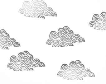 Cloud Rubber Stamp | 014076