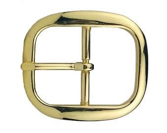 """Belt Buckle Center Bar Brass 1-1/4"""" (3.2 cm) 1565-21"""