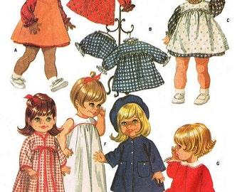 Chubby Baby Wardrobe Pattern for Betsy Wetsy - type Dolls