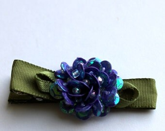 Sequined Hair Clip