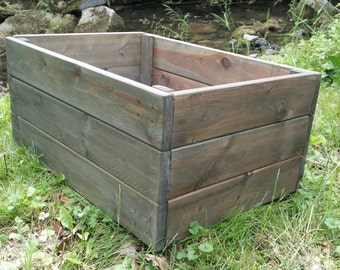 Large Rustic Crate