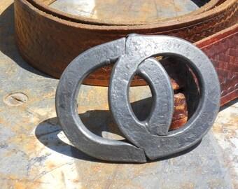 Forged Steel belt buckle.