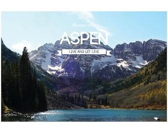 Aspen (Maroon Bells) - Poster