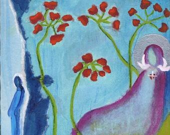 Peace. Christian Art PRINT