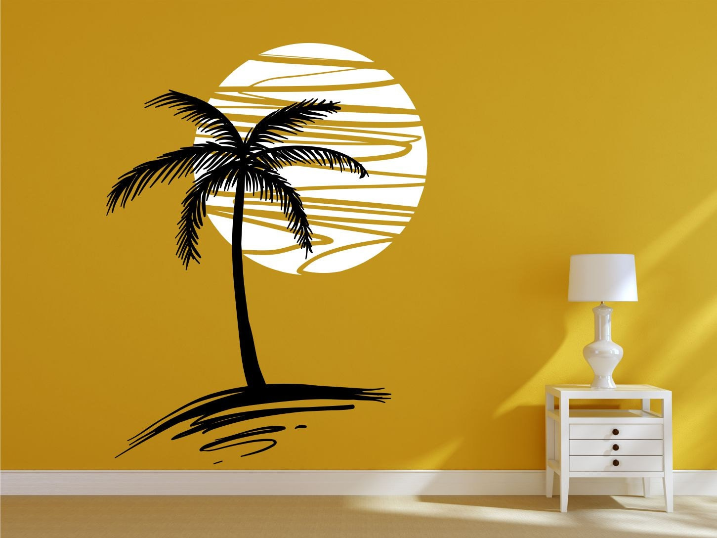 Outstanding Palm Tree Wall Decals Pictures Designs – Dievoon
