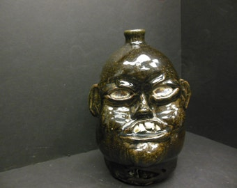 Southern Face Jug made by Matthew Hewell