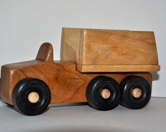 Hardwood Toy Dump Truck