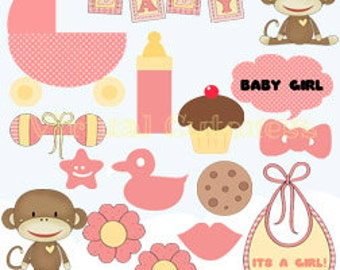 Free Baby Shower Images Girl ~ Booth baby shower templates