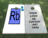 Personalized Corn Hole Set with Bean Bags