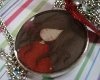 Gorjuss charm necklace