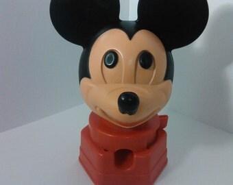 vintage mickey mouse 1968 Hasbro gum ball machine