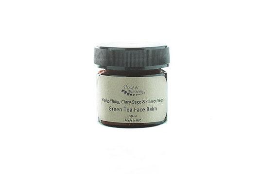 Ylang-ylang, Clary Sage & Carrot Seed Green Tea Face Balm