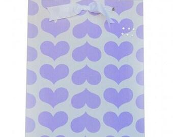 Purple Heart Fabric Magnet Board