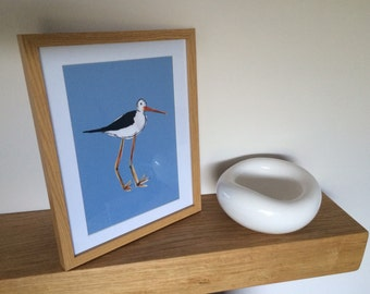 Hand drawn Bird A4 Print