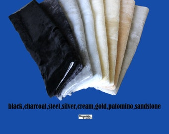 Genuine Real Australian sheepskin fabric material 1 piece only