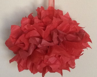 Small Tissue Paper Pom Pom