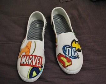 DC/Marvel Shoes