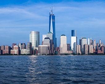 United States - New York - skyline of Lower Manhattan - SKU 0032