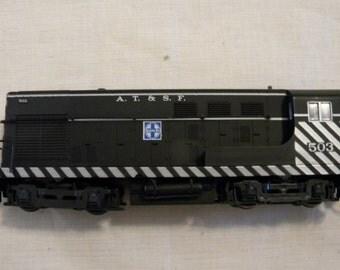 Vintage Trains, Vintage HO Trains, HO Model Train, Santa Fe H-10-44 #503