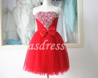 Dress homecoming gowns bow junior prom dresses christmas dresses