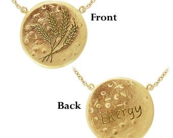 Virgo: ENERGY (The Virgin) Astrology Necklace