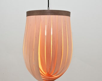 LJ LAMPS epsilon - adjustable pendant lamp from wood