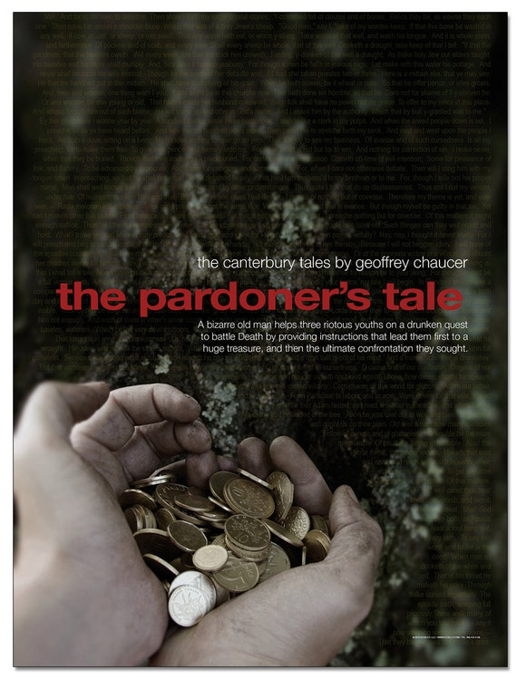 a literary analysis of the pardoners tale The paperback of the the canterbury tales (sparknotes literature guide series) by sparknotes, geoffrey chaucer | at barnes & noble  the canterbury tales.
