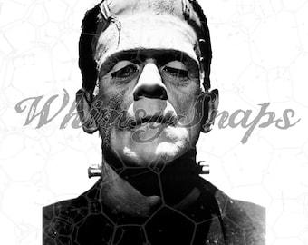 Frankenstein, Frankenstein Monster, Movie Still DIGITAL IMAGE Download,  .png and .jpeg, transfer