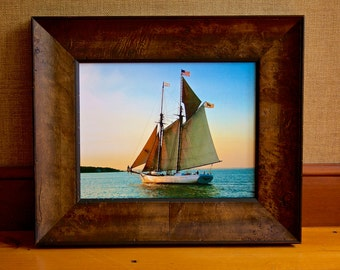 50 Dollars Off ~ Alabama ~ Gorgeous Framed Photograph, Sailboat Photos, Marthas Vineyard Photos, Nautical, New England