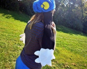 Crochet Klonoa Hat With Ears Made to Order