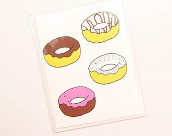 Handmade Doughnut Card