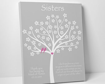 Sister Gift - Personalized Gift for Sister - Wedding Gift for Sister - Birthday Gift for Sister - SKU#144