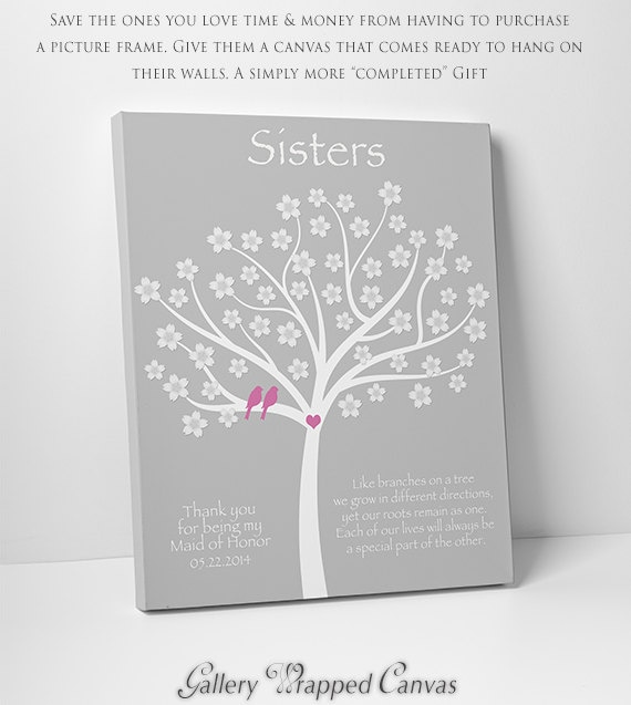 Sister GiftPersonalized Gift for SisterWedding Gift for Sister ...