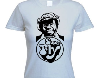 Curtis Mayfield Ladies T-Shirt