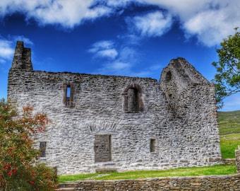 Ireland Photography, Rustic Ireland, Irish Architecture, Dingle Peninsula, Irish Decor, Ireland Print
