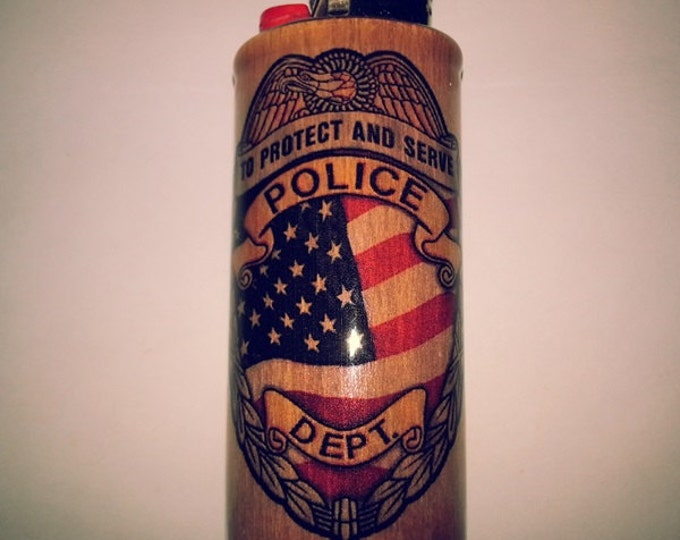 Police Department Lighter Case Lighter Holder, Lighter Sleeve