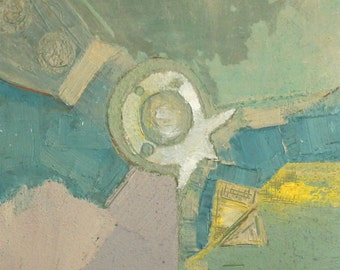 European art oil painting abstract cubism signed