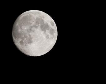 Full moon digital art,Fine Art photography,image download, Home decor, Printable Downloads, Instant Download, Jpeg, Landscape,