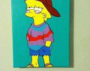 Lisa Simpsons Painting