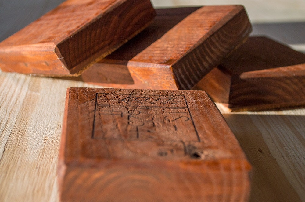 Wooden Coasters Drink Coasters Reclaimed Wood Coasters