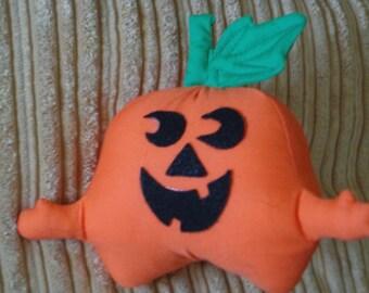 Solid Orange Pumpkin