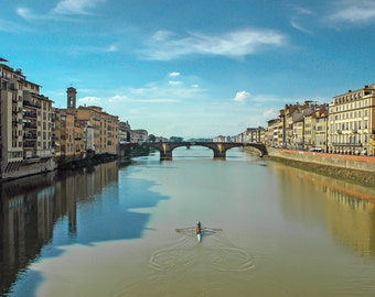 Fine Art Photographic Print • Florence Italy • Various Sizes and Gallery Wrap Available