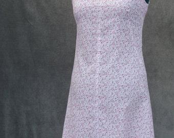 Pink Floral Shift Dress - UK12
