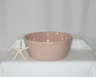 Vintage 1920's Hall - Medium sized Serving Bowl - Pink