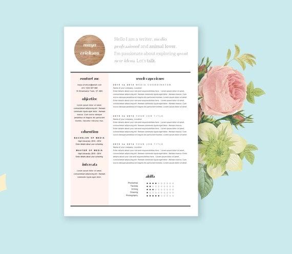 Free Stylish Resume Templates 25 Modern And Professional Resume