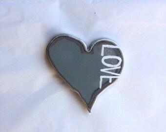 """Heart magnet-""""LOVE"""""""