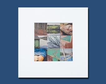 Damflask reservoir Print