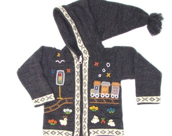 Jacket, Peruvian child vest